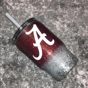 Alabama Kids Cup W/ Straw